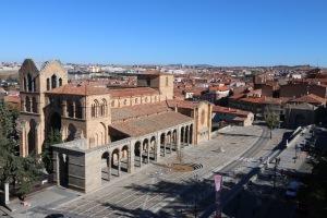 Basilica de San Vincente Avila