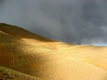 Morocco before thunderstorm