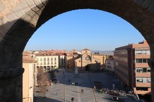 Von Stadtmauer Avila