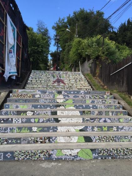 stairs Puerto Varas
