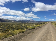 way to Paso Roballos