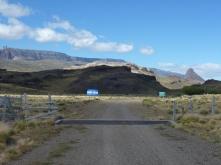 border to Argentina
