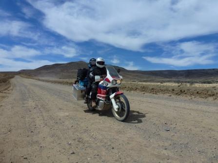 on the way to El Chaltén