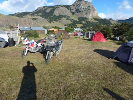 Camp ground El Chaltén