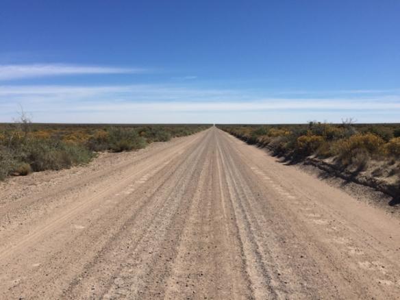 70km straight ahead
