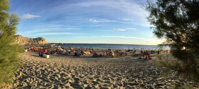 beach on Penisula Valdes