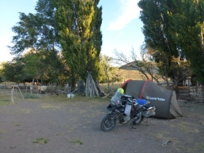 wild camping near RN25