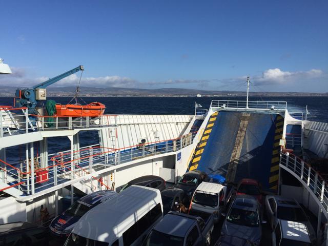 Ferry Pta Arenas to Porvenir