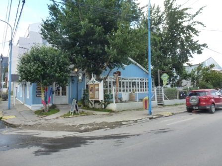 old builing in Ushuaia