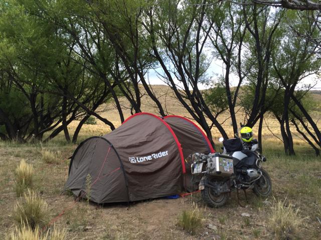 wild camp near Río del Gato