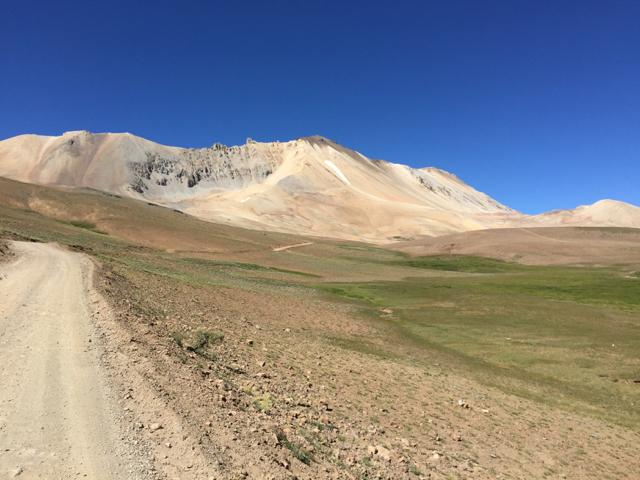 way to Valle Hermoso