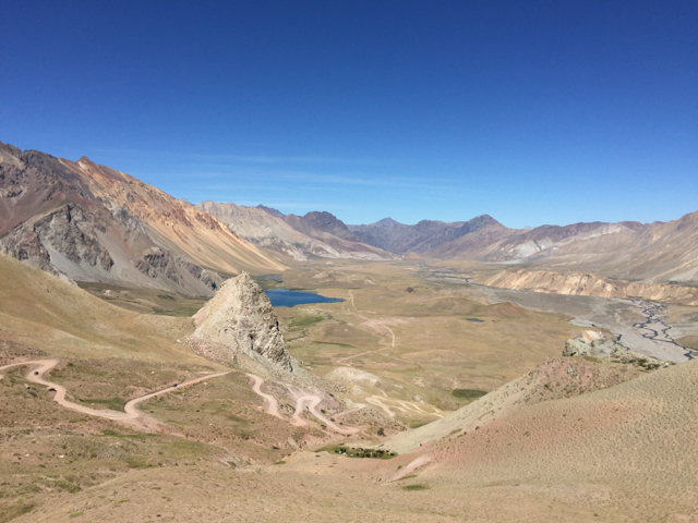 the Valle Hermoso