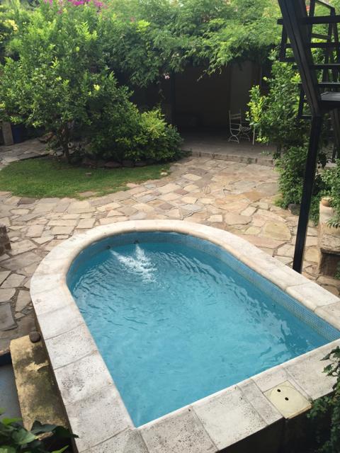 Pool at Alamo Hostel Mendoza