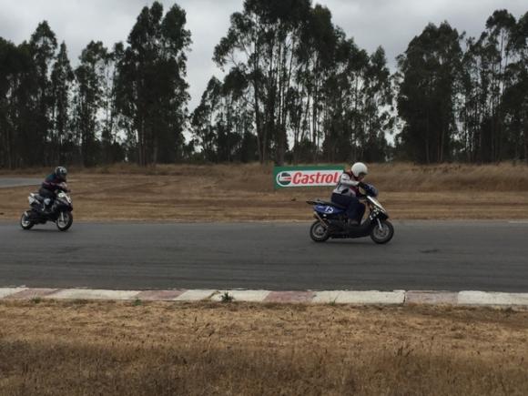 scotter race