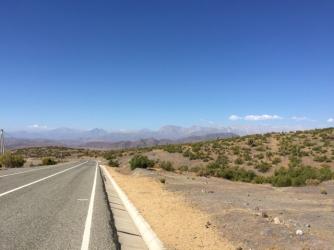 way to Canela Baja/Combarbalá