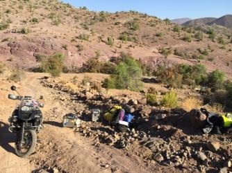 dirt road from Cogoti to La Ligua