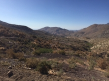 way from Hurtado to Vicuña