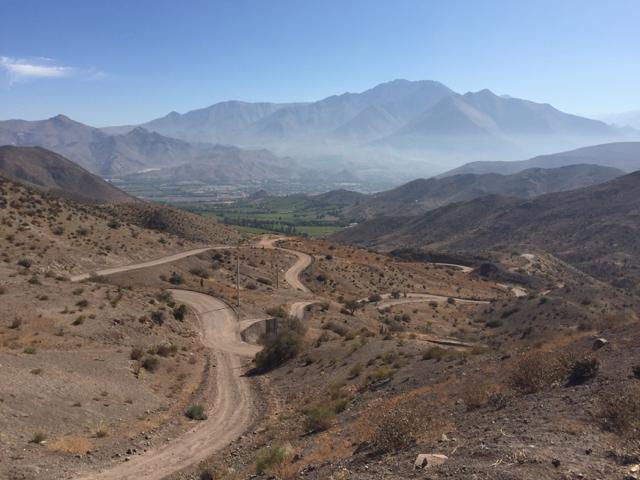way to Vicuña
