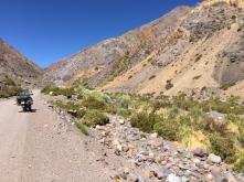 way to Paso Agua Negra