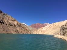 Embalse la Laguna on the way to Paso Agua Negra