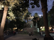 Salta by night Plaza 9 de Julio