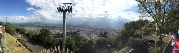 Salta from Cerro San Bernardo panorama