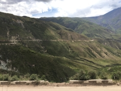 way from El Carril to Cachi
