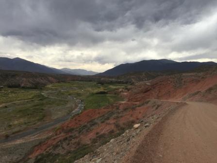 way to Paso Abra de Acay