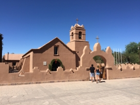church San Pedro de Atacama