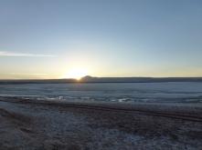 sunset in Tebinquinche