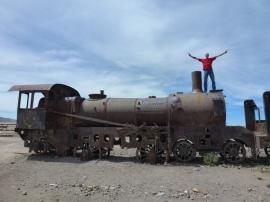 cementario de los trenes