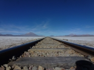railway from Uyuni to Ollagüe and Calama