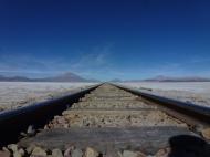 railway from Uyuni to Ollagüe and Calama