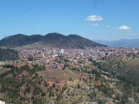 Sucre from the top