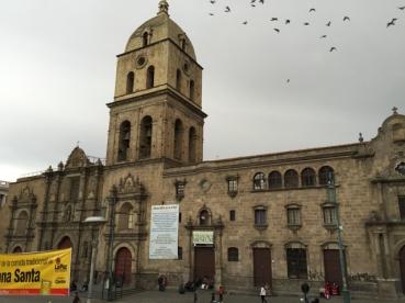 catedral San Francisco La Paz
