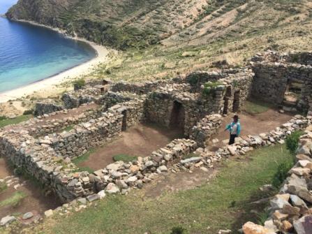 excavations on Isla del Sol