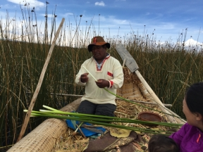 reed cutting Uros Khantati