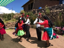 Taquile traditional dance