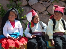 kids on Taquile