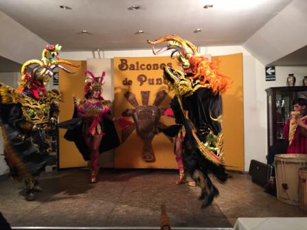 traditional dancers Puno