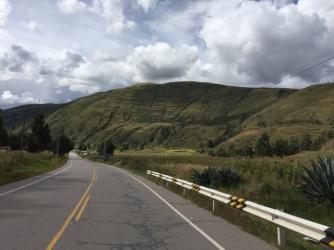 way from Juliaca to Cusco