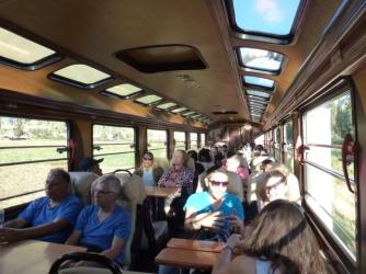 Inka train to Agua Calientes