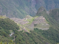 Machu Picchu from sun gate
