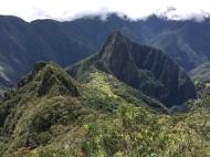 Machu Picchu from Montaña