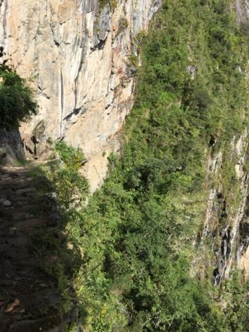 Inka bridge Machu Picchu