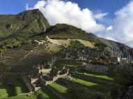 view to Montaña Machu Picchu