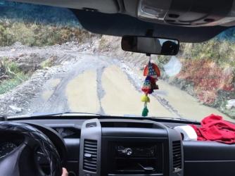 way to Pilcopata