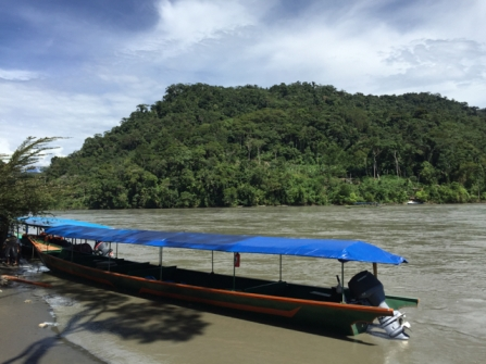 our boat on Madre de Dios