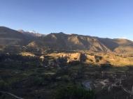 way to Cabanaconde Colca Canyon