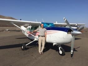 plane to Nasca lines